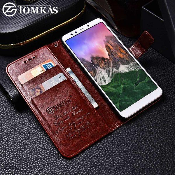 TOMKAS-Case-For-Xiaomi-Redmi-5-Plus-Case-PU-Leather-Flip-Luxury-Holder-Phone-Bag-Cases